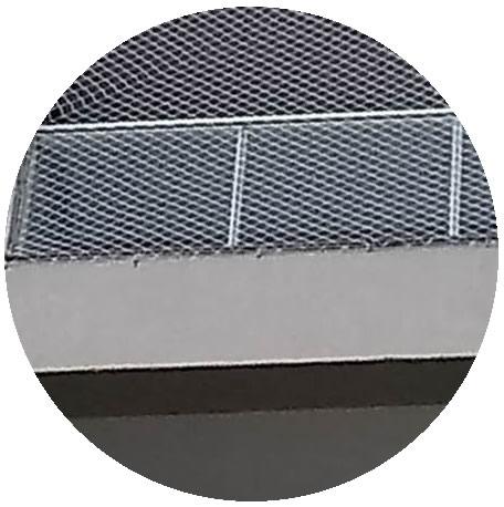 rede para proteger janela